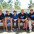 Zawodnicy startują w Juracie w długodystansowym pływaniu w płetwach